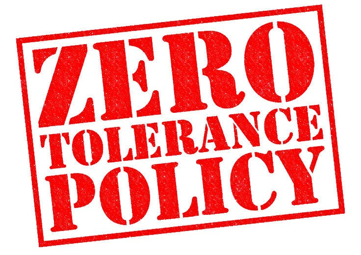 zero tolerance policy The dark side of zero tolerance: can punishment lead to safe schools  zero tolerance took hold  in 1994 the federal government stepped in to mandate the policy.