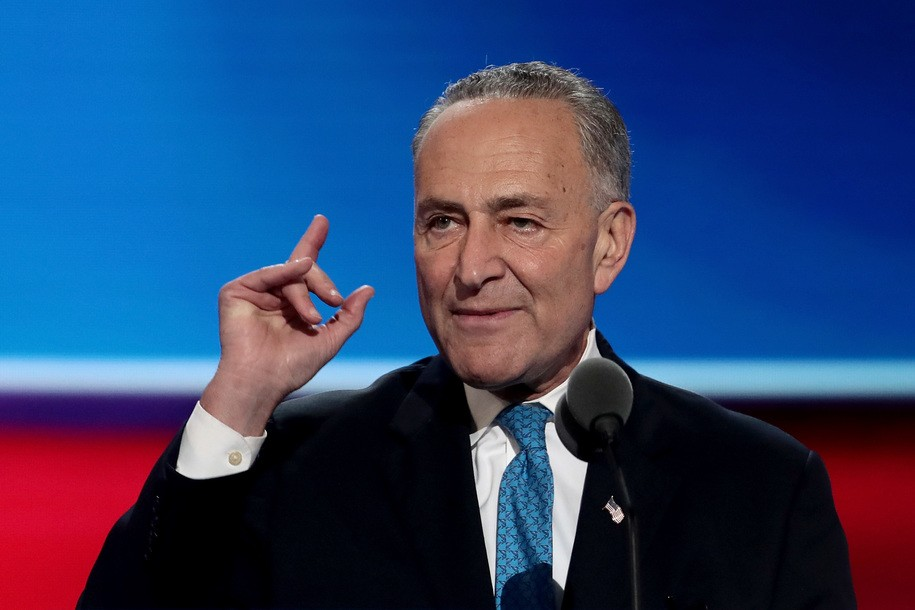Chuck Schumer is using Mitch McConnell