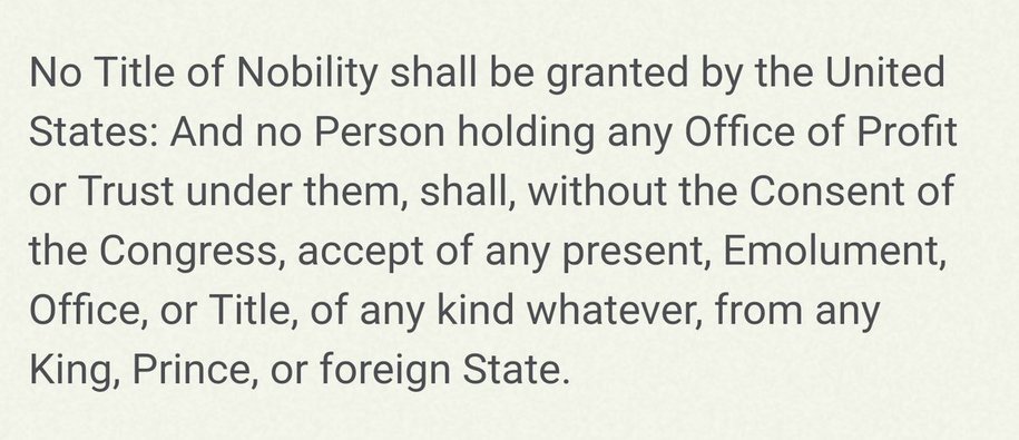Image result for EMOLUMENTS CLAUSE