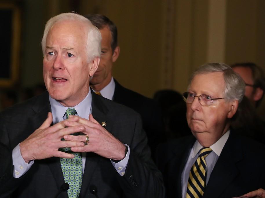 John Cornyn hails GOP plan to jeopardize health insurance for 20 million Americans as 'cautious'