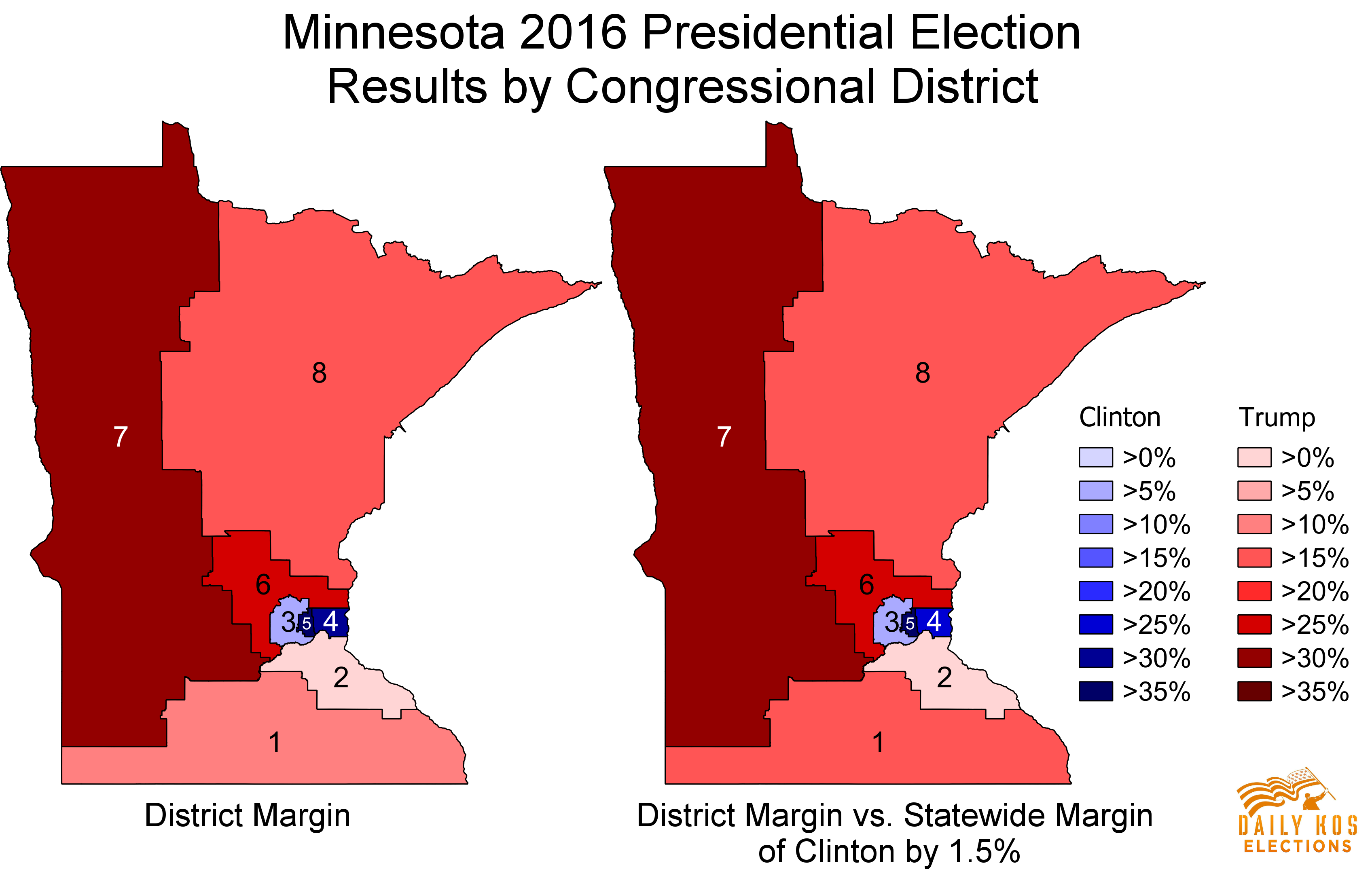 Minnesotas Elections Show Both The Promise And Limits Of - District map us election