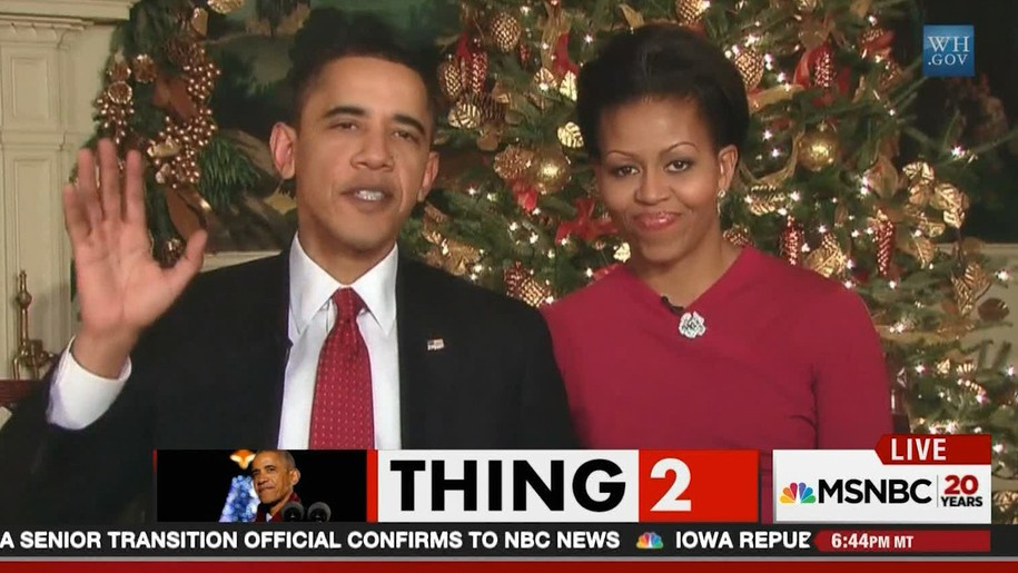 obamas war on christmas type deception gave us trump more chris hayes debunking format please - The War On Christmas