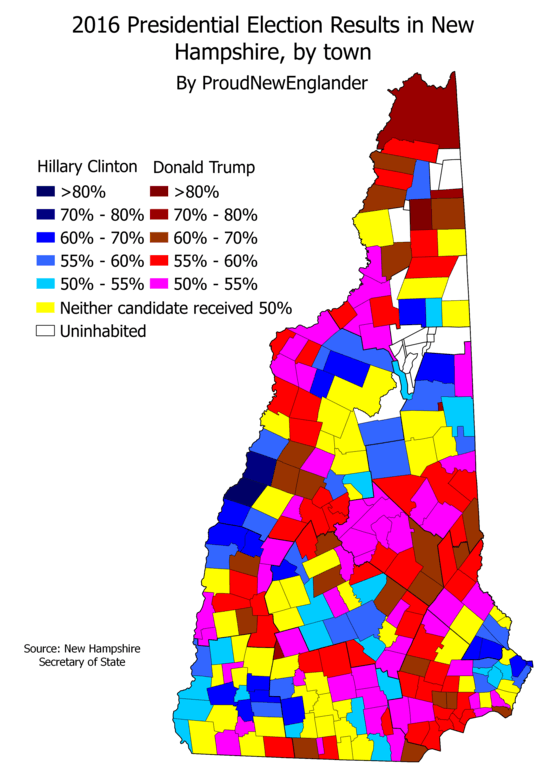 What On Earth Happened In 2016 Part 1  New Hampshire