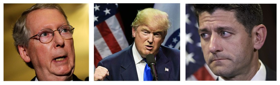 Image result for trump/ryan/mcConnell