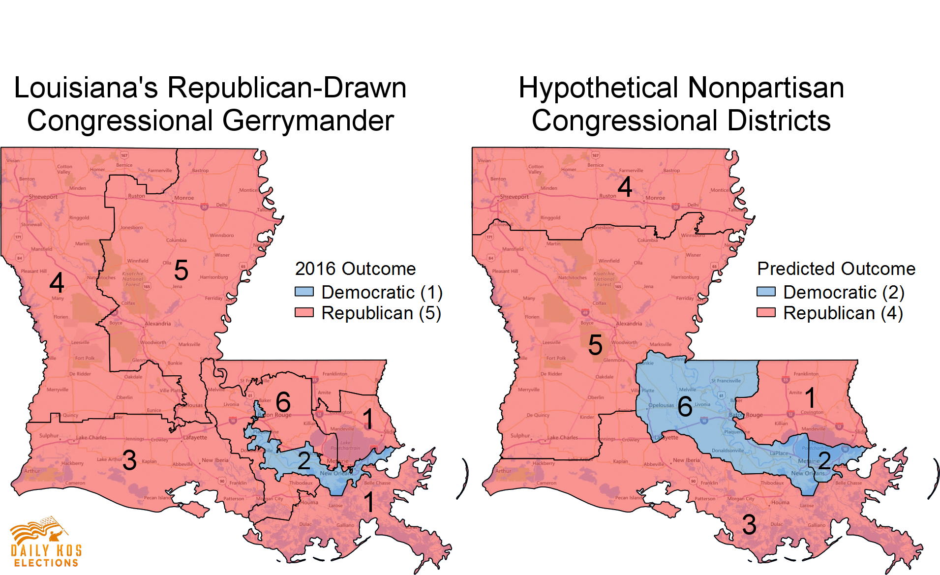 Heres What Louisiana Might Have Looked Like In Without - Ms district 1 us congressional map
