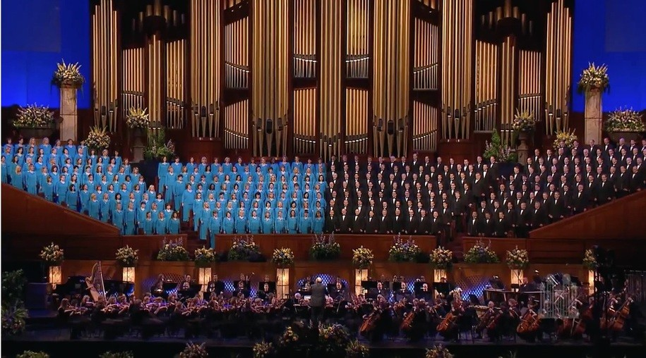 In a public letter Mormon Tabernacle Choir singer resigns rather Daily ...