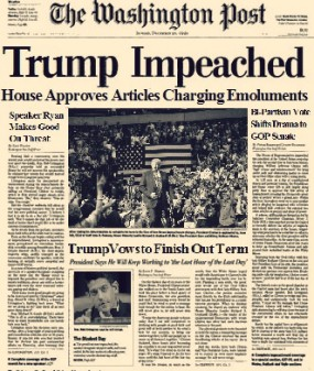 the republicans are going to impeach or 25th amendment