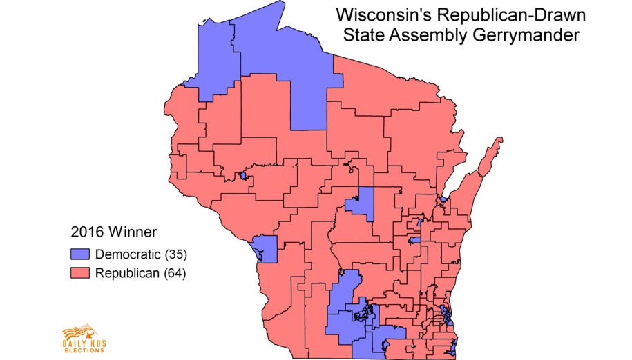 Court Says Wisconsin GOP Must Draw New Assembly Map After