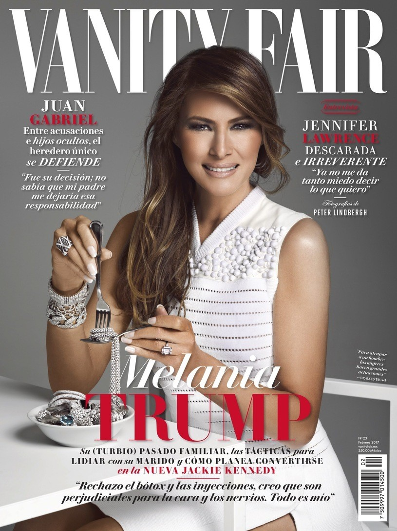 Image result for melania eating diamonds