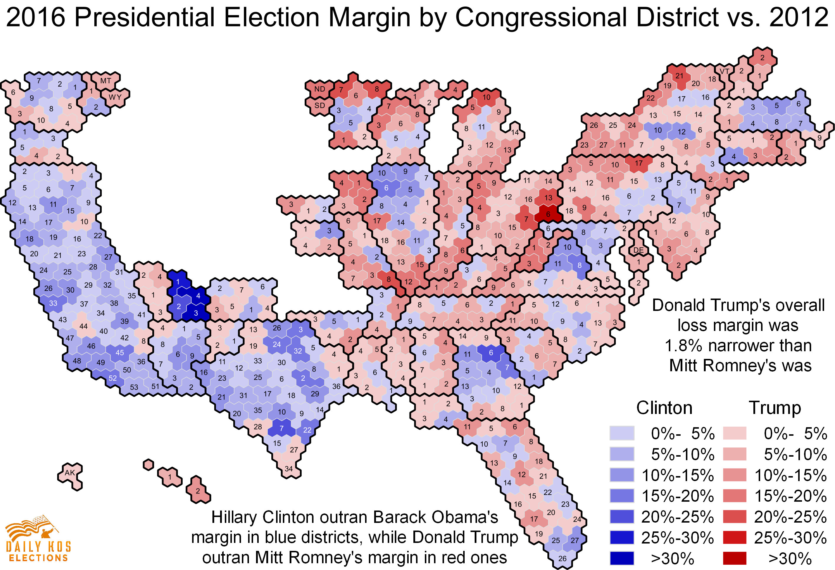 Esri News Spring ArcNews USA Today Uses GIS For Election Red - Voting map 2016 us