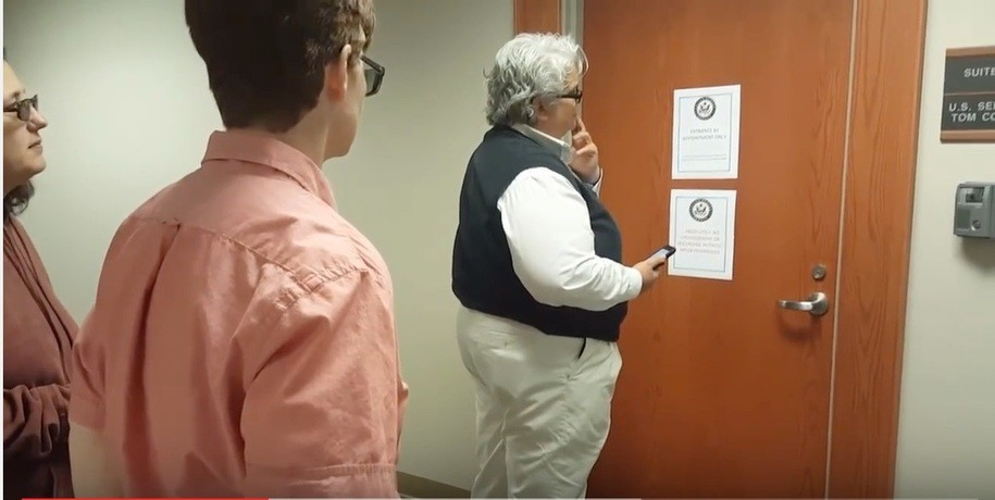 Three constituents try to meet with Tom Cotton's staff