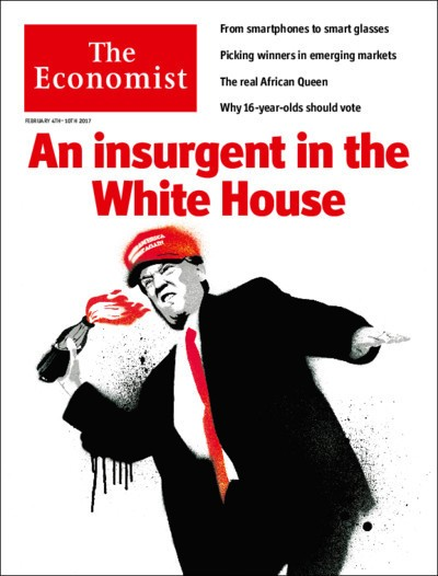 The Economist cover, Feb. 4, 2017