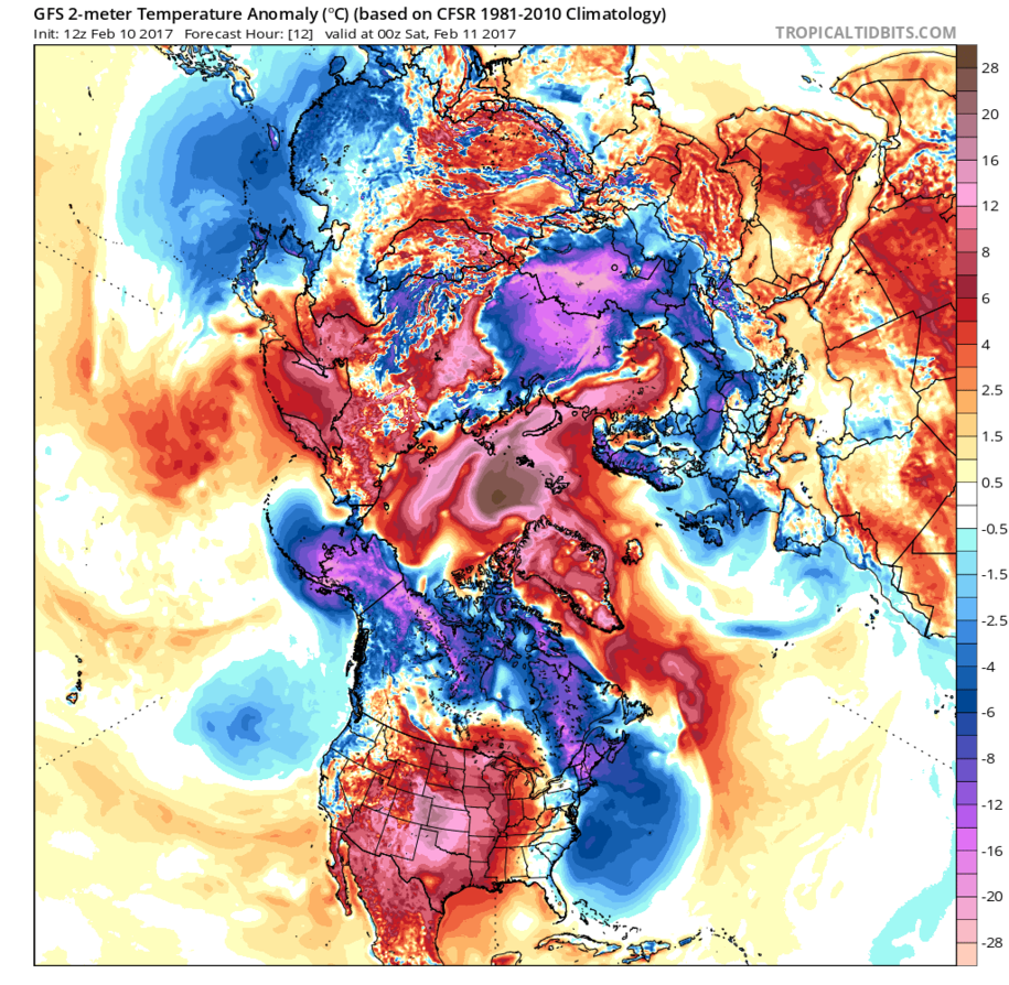Climate Crisis: North Pole Temp is 50 F Above Normal & Arctic Sea Ice Volume is Collapsing