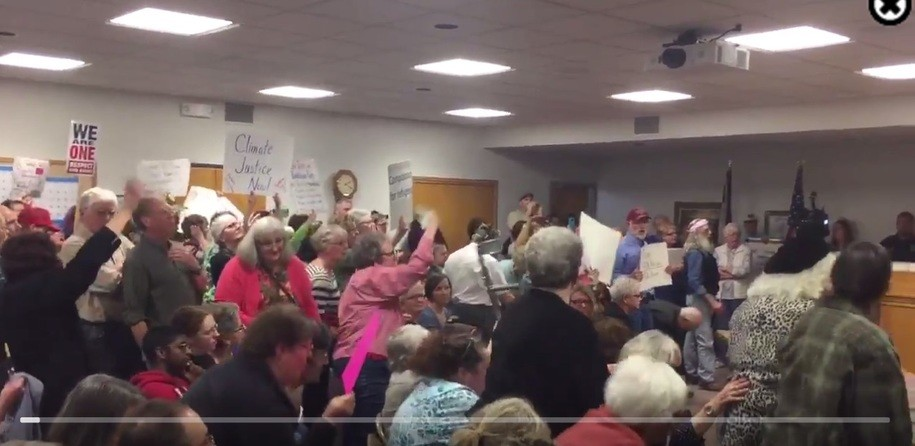 Joni Ernst flees town hall meeting after only 45 minutes