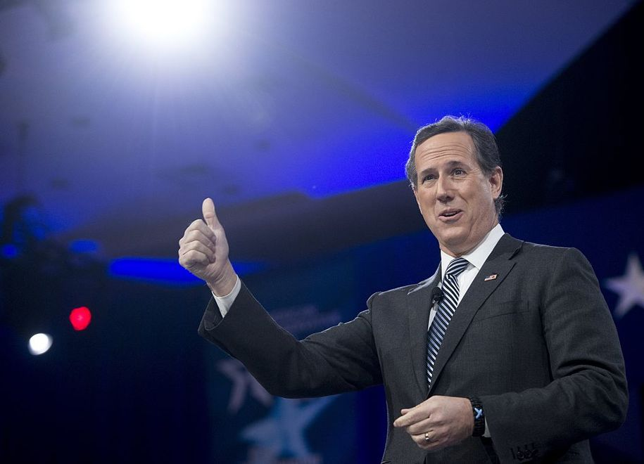 Rick Santorum speaks for the GOP: People with pre-existing conditions are scamming the system