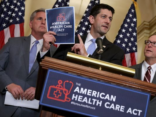 Paul Ryan, American Health Care Act, Trumpcare, Wealthcare