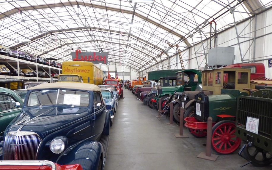 LeMay Family Collection: Trucks in the White Building (Photo Diary)