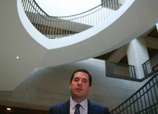 House intel chief temporarily steps away from Russia probe