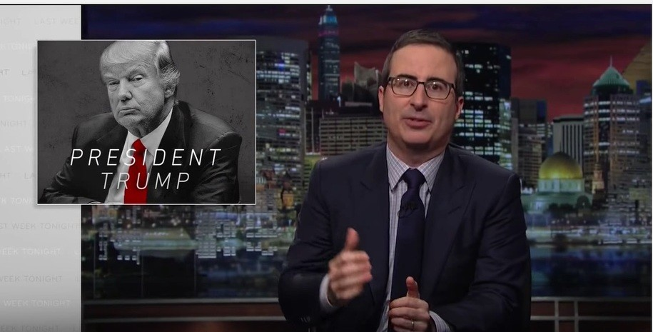 John Oliver and Donald Trump