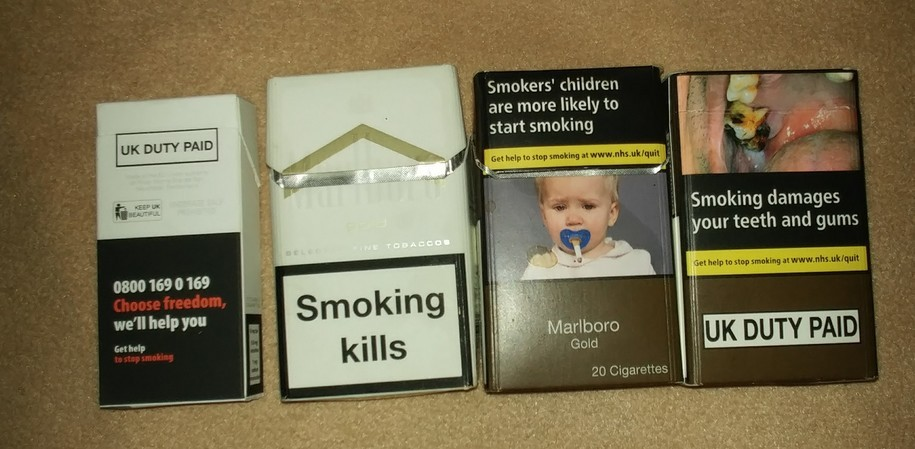 Menthol cigarettes Marlboro UK brands