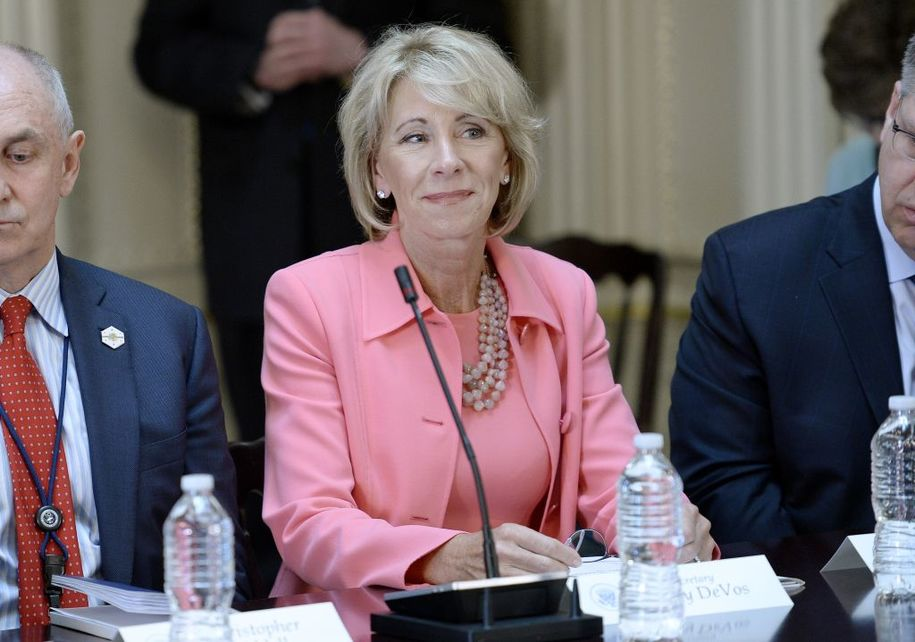 devos taps oppressed white woman to head civil rights office at education department. Black Bedroom Furniture Sets. Home Design Ideas