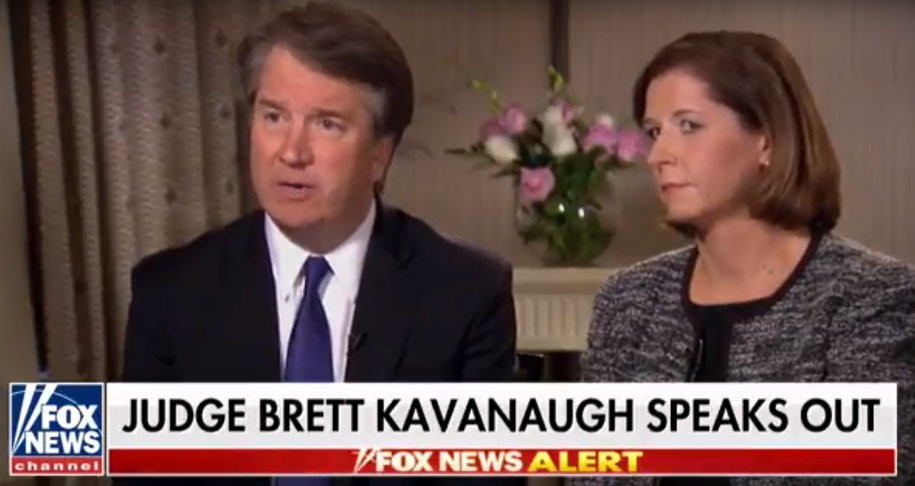 Kavanaugh told Fox News he wants a 'fair process'—but refused to call for an FBI investigation