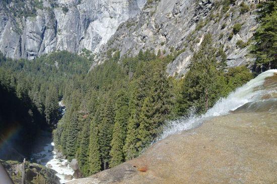 Top of Vernal Falls, Yosemite National Park