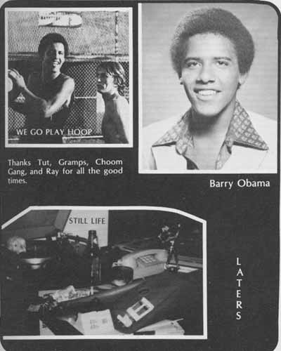 Obama s High School yearbook