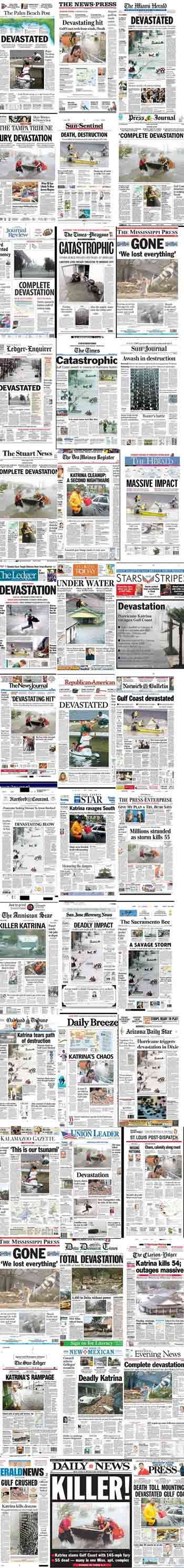 Hurricane Katrina: Timeline of Events: Page Four: This Far ...