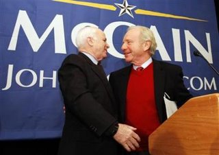 So, Lieberman endorsed McCain