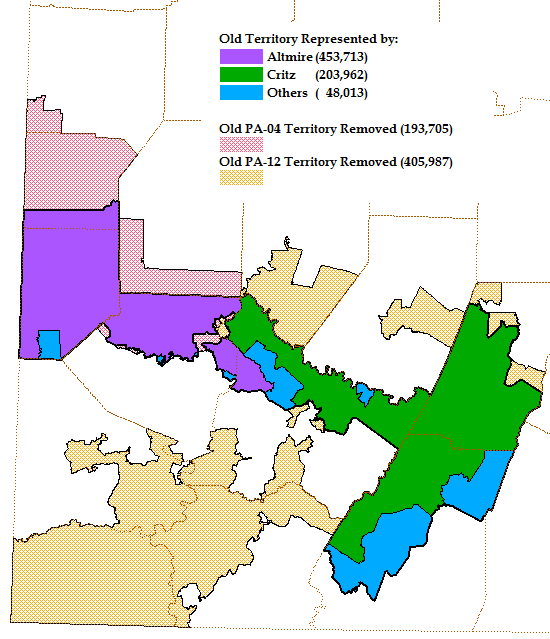 Daily Kos Elections Pennsylvania Primary Preview - Us house district map pennsylvania