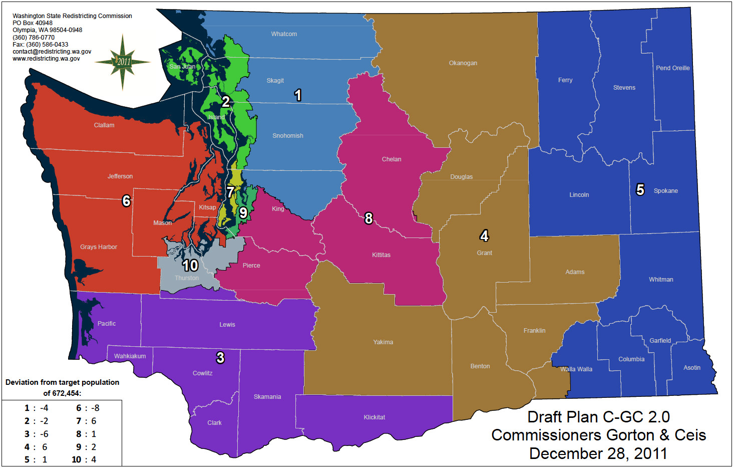 Washington redistricting: Get ready for a big battle in WA-01