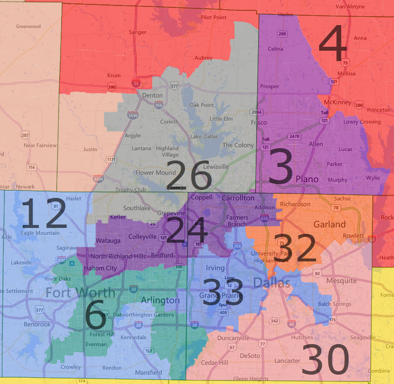 Map Of Texas 30th District.How Gerrymandering Cost Democrats The House In 2012 An Interactive