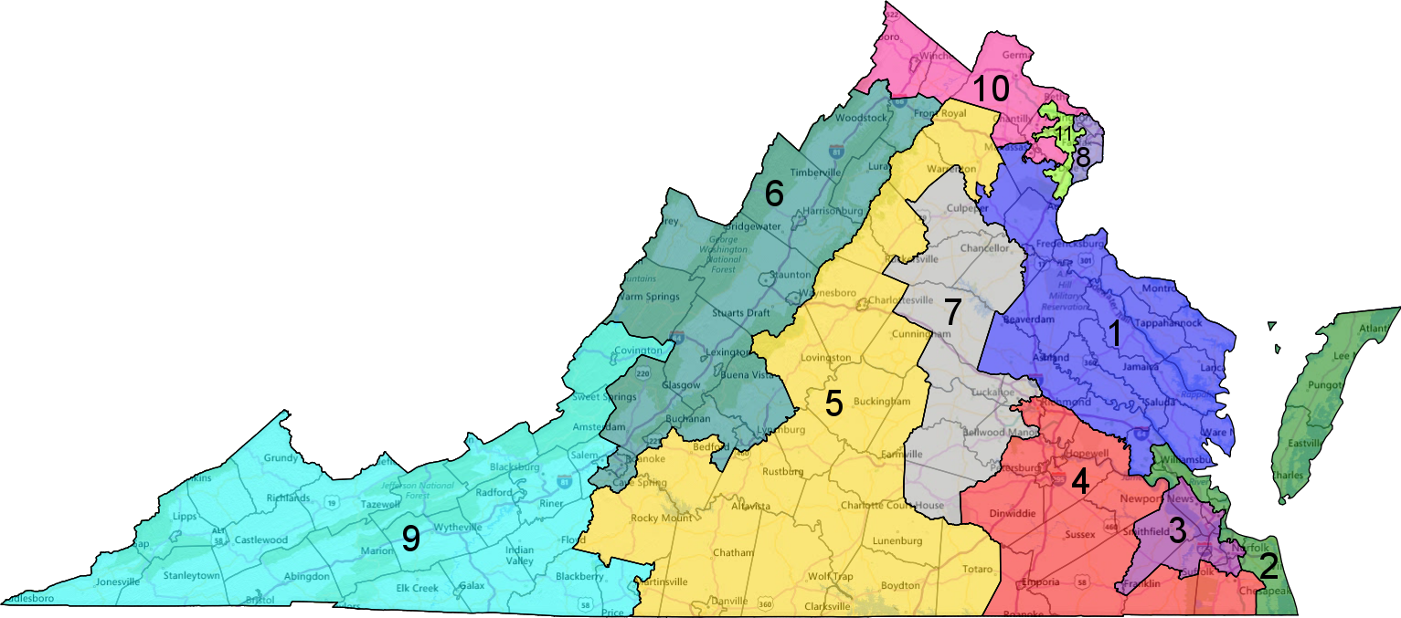 Federal court rules Virginia must use new map for 2016 ...
