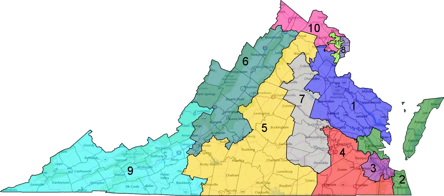 Virginia 2016 House Race Ratings (3/26/16) | Blue Virginia