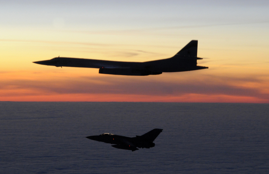 Russia sends bombers just off our coast, as Putin disses arms-control treaty that Trump is canning