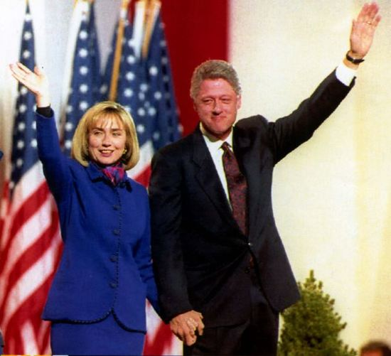The Clintons Embody The American Dream