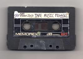 Logo for the San Francisco Tape Music festival