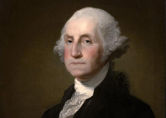 """Gilbert Stuart Williamstown Portrait of George Washington"" by Gilbert Stuart - link. Licensed under Public Domain via Commons - https://commons.wikimedia.org/wiki/File:Gilbert_Stuart_Williamstown_Portrait_of_George_Washington.jpg#/media/File:Gilbert_Stua"
