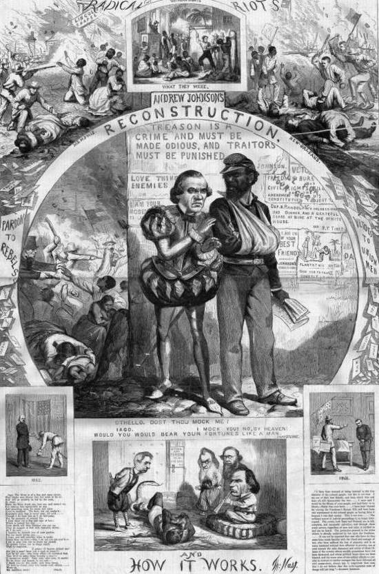 Slavery and reconstruction.