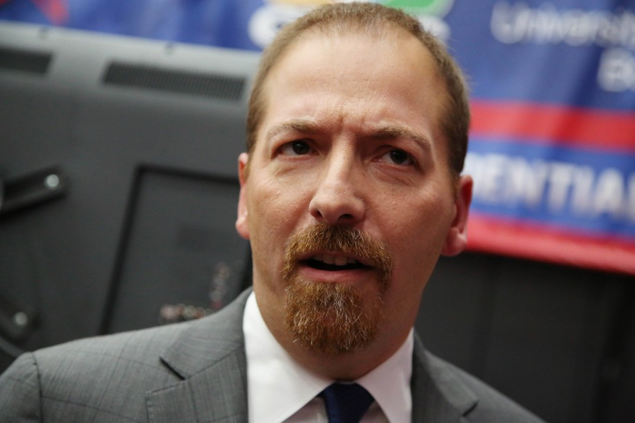Amnesiac Chuck Todd wonders why President Obama failed to unite the country