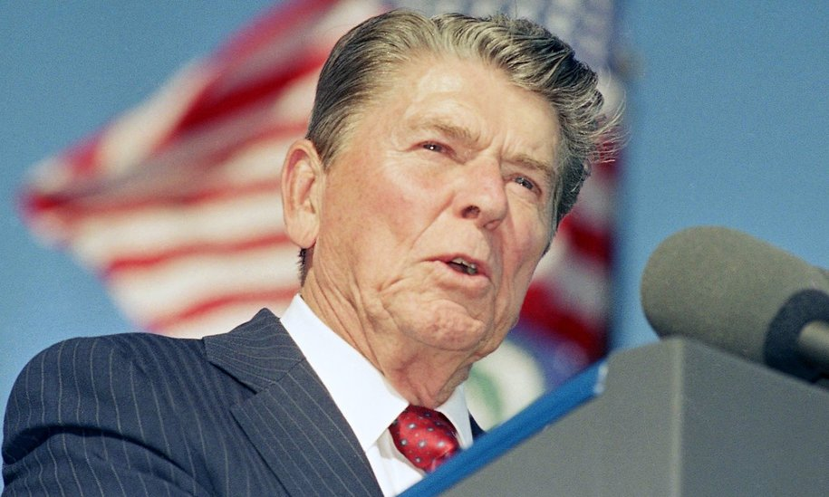 ronald reagan speech President ronald reagan addressed a crowd at the brandenberg gate on june 12, 1987 historians debate whether his challenge to the soviet leader mikhail s gorbachev helped bring down the berlin wall.