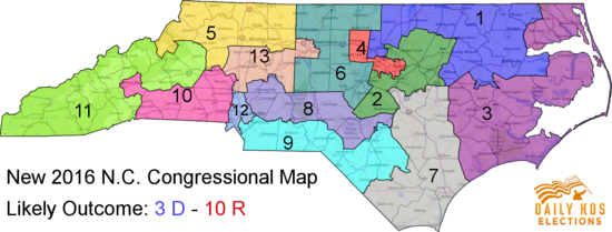 Federal court upholds new Republican-drawn North Carolina ... on