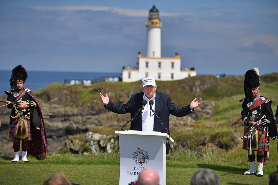Trump's Turnberry scandal keeps getting worse with lengthy visits and government-purchased souvenirs