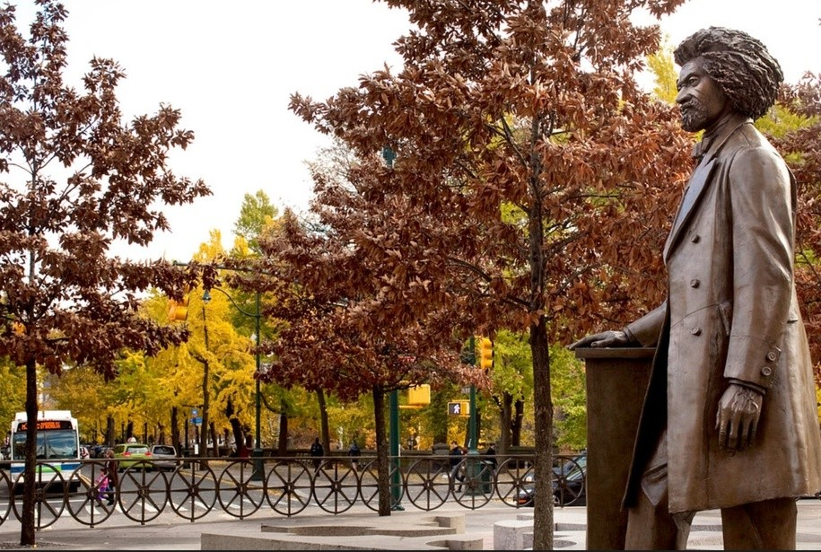 Frederick Douglass Memorial in Central Park
