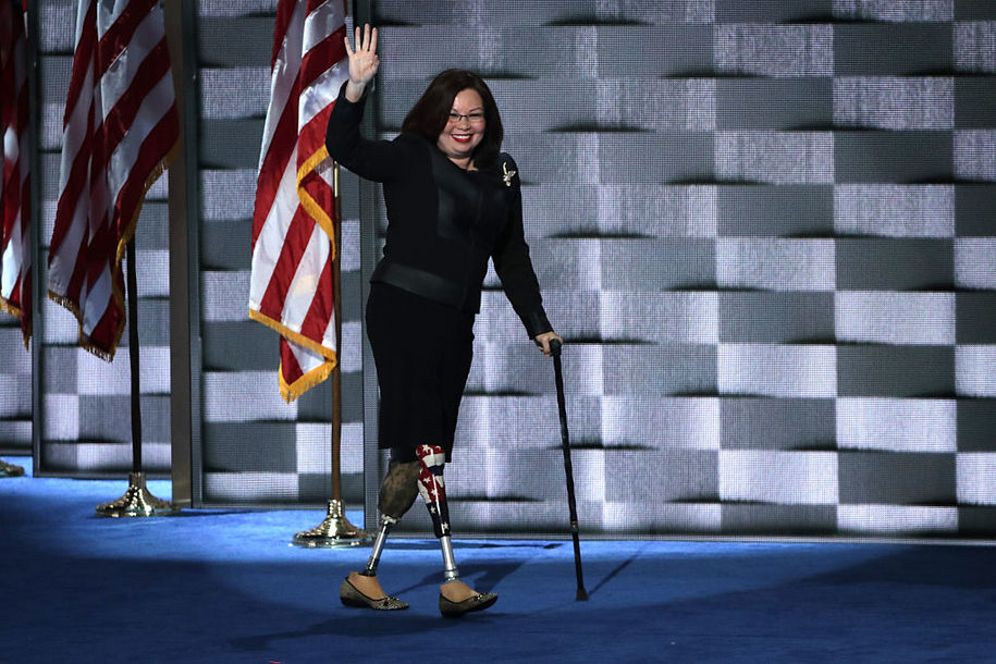 Iraq vet Duckworth to 'Cadet Bone Spurs' Trump: 'I won't be lectured by a 5-deferment draft-dodger'