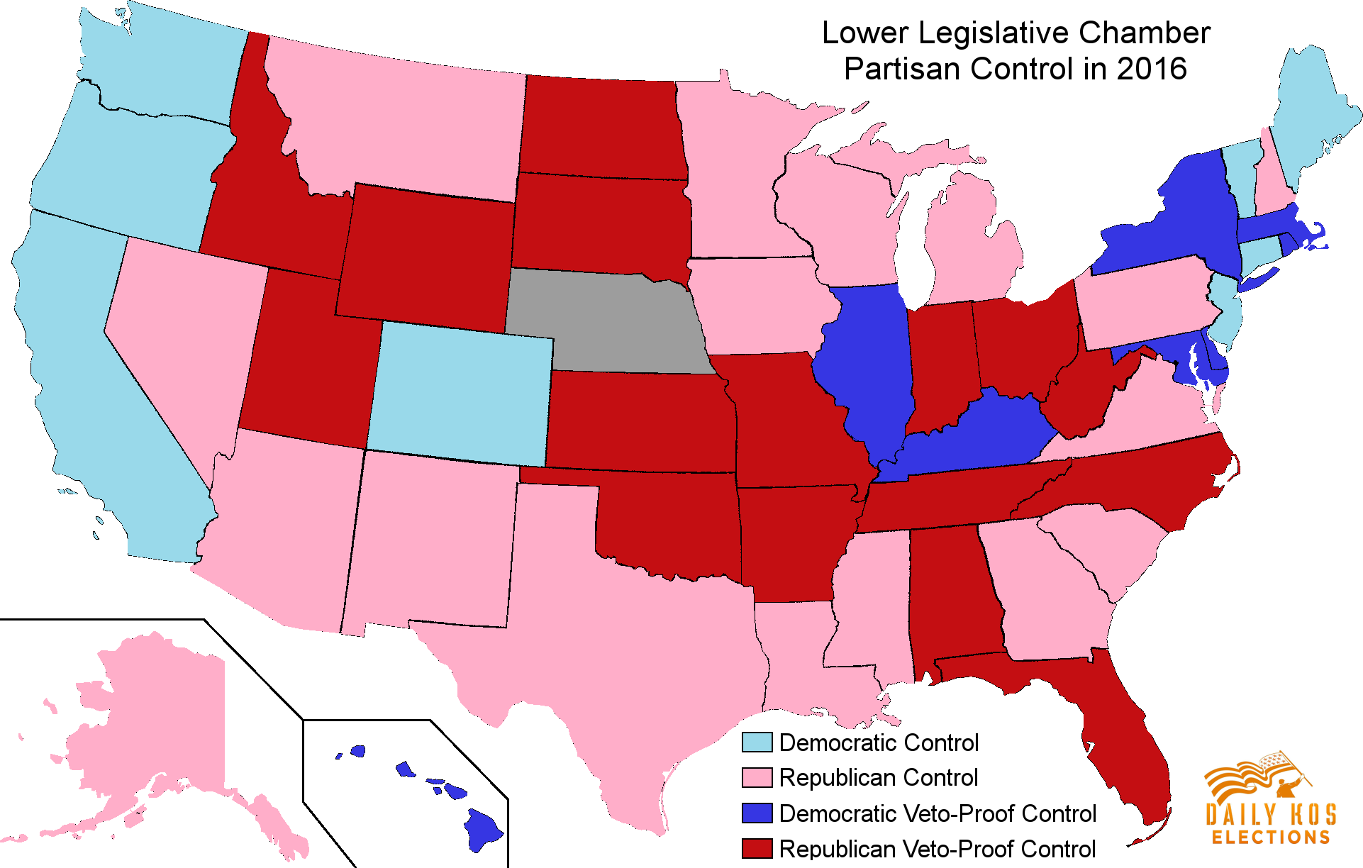 Democrats Are Already Gearing Up For Our Next Redistricting Battle - Us map if all democrats were in one state
