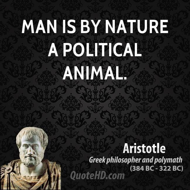 a discussion on aristotles characterization of man as a political animal Learn more about the life of greek philosopher aristotle, whose work profoundly influenced the modern scientific method, in this mini biography.