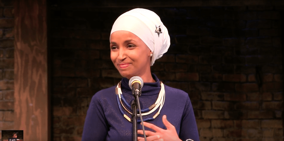 Ilhan Omar tells pastor 'you're gonna have to just deal' with her hijab on the House floor