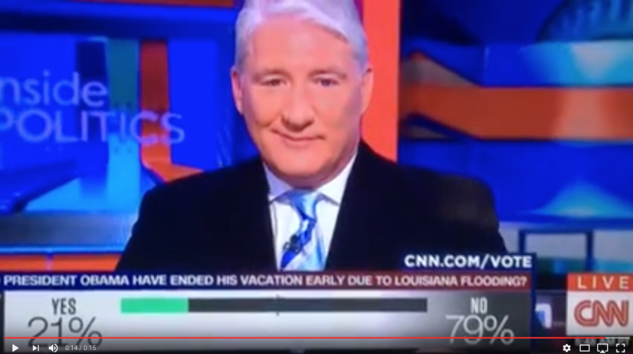 4 of 5 CNN Viewers Agree W/Obama, John King Appears ...